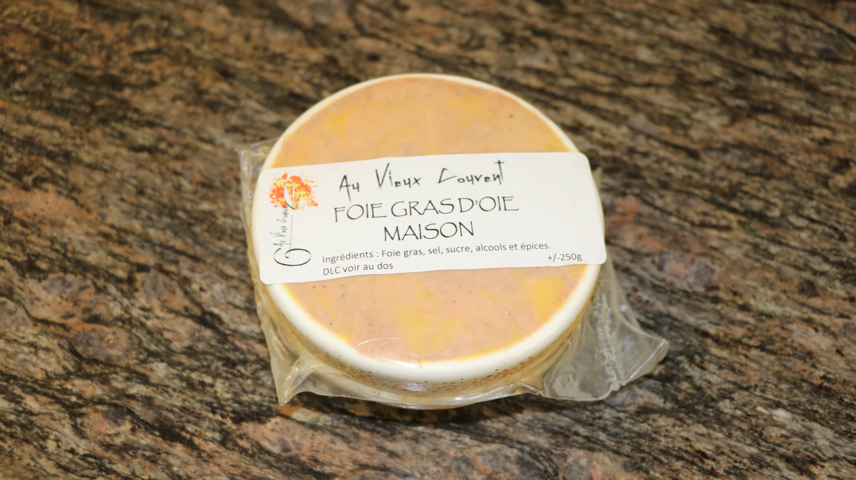 Foie gras d'oie, 250 g